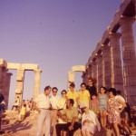 1971 Sounion Greece with mother Anthe and Voutetakis family