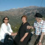 Crete 2000 with Argyro Kokovlis and Marika Draboukakis
