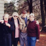 with sister Helen Krikos and niece Linda Krikos 2001